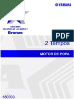 Yamaha - Motor de Popa 2 Tempos