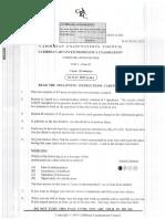 CAPE- Communication Studies- Unit 1- Paper 01