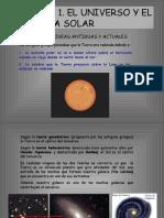 Unidad 1. El Universo y El Sistema Solar