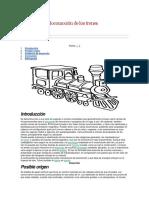 Mecanismo de Locomoción de Los Trenes