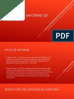 Elementos Informe de Auditoria