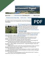 PA Environment Digest May 21, 2018