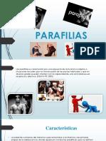 Parafilias Disforia