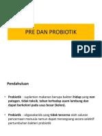 4. Pre Dan Probiotik