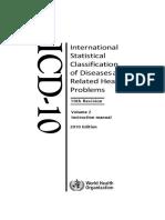 ICD10Volume2 en 2010