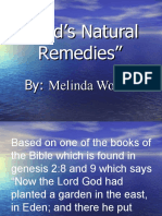 God's Natural Remedies