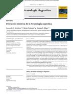 Evolución Histórica de La Neurología Argentina