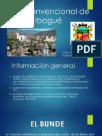 Exposición. Plan Convencional de Ibagué