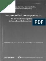 Sociología clásica y comunidad.pdf