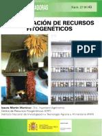Conservacion de Recursos Fitogeneticos