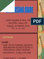 Tatalaksana Diare 2016