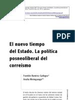 El nuevo tiempo del Estado. La política posneoliberal del correísmo - OSAL (2007)