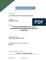 ESTUDIO AERODINÁMICO DEL FLUJO ALREDEDOR DE UN AHMED BODY MEDIANTE OPENFOAM
