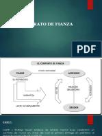 DERECHO CIVIL X (GARANTÍAS) -CASOS SOBRE FIANZA