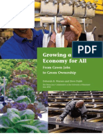 Growing a Green Economy For All
