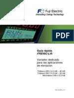 Variador Fujitec SG FRENIC Lift ES 1 7 1