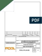 POOL-PO-AI-002 Rev 0 Calibracion de Instrumentos