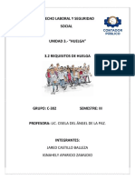 Requisitos de Huelga