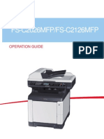 FS C MFP 2026 2126 Operation Guide