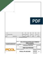 4.POOL-PO-AE-004 Rev. 0 Aislación Electrica de Cañerias de Planta