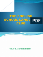 The English School Language Club