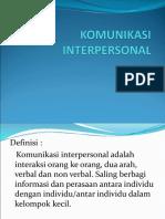 KOMUNIKASI INTERPERSONAL DAN KONSELING.ppt