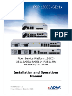 FSP 150CC-GE11X R6.1 Installation and Operations Manual