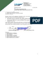 (0097) Perubahan Waktu Pengumuman UN SMP Th 2018- Dinas Provinsi