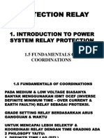 1.5 Introduction to Power System Relay Protection (Fundamentals Coordinations)