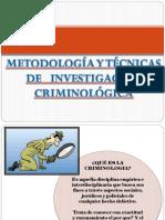 Metodologia de La Inv. Criminologica