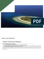China's Maritime Disputes