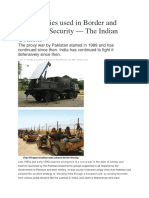 Technologies Used in Border and Perimeter Security