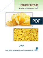 Potato and Banana Chips123
