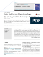 Sudden Death in Water ; Diagnostic Challenges