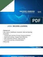SAS Machine Learning BretPresentantion ReceivedOct8