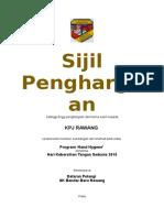 sijil KPJ 2018