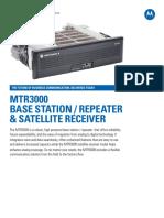 Mtr3000 n. America Spec Sheet