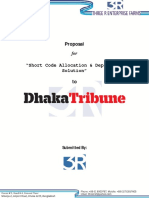 Proposal for Dhaka Tribune