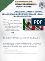 Contaminacion Atmosferica - Lima y Cdmx