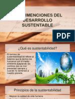 Las Dimenciones Del Desarrollo Sustentable