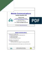 Mobile Communications - Martin Haardt