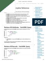 FetchXML - Complete Reference - MSXRMTOOLS