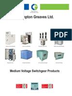 Medium Voltage Switchgear Products