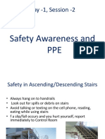 Day 1 Session 2 Safety Awareness & PPE