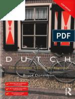 Bruce Donaldson - Colloquial Dutch - 2008