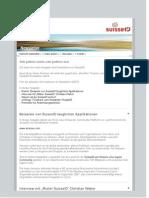 Original SuisseID Newsletter August