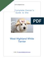 Westie Doggie Book