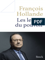 François Hollande Les Leçons Du Pouvoir