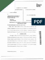 Coker v Buffum, Supplement Motion for Sanctions