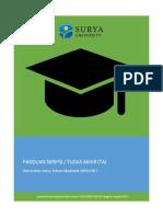 Panduan Tugas Akhir Mahasiswa Universitas Surya Tahun Akademik 2016-2017.pdf